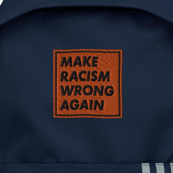 """""""Make racism wrong again"""" Graphic – Childish Clothing"""