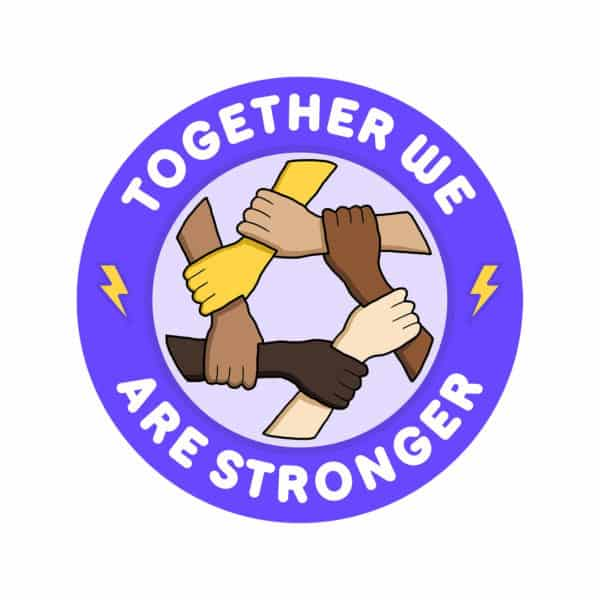 """""""Together we are stronger"""" Graphic – Childish Clothing"""